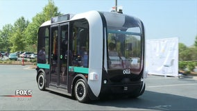 Driverless shuttles: Peachtree Corners opens the doors to its new autonomous vehicles