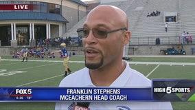Game of the Week - McEachern head coach