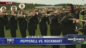 Game of the Week Preview with Rockmart band and cheer team