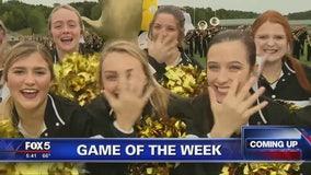 Game of the Week cheerleaders