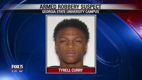 GSU police search for armed robbery suspect