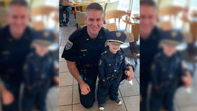 'He outranks me': 3-year-old police academy prospect impresses officers