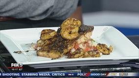 Chef Jernard Wells previews Creole honey lemon salmon recipe
