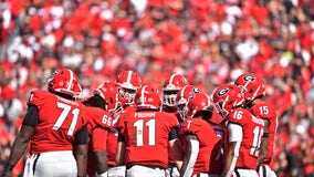 Georgia holds on to No. 4 in this week's College Football Playoff rankings