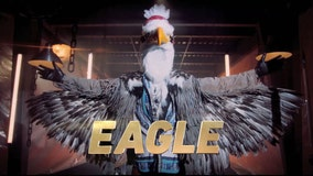 'The eagle has officially landed' on 'The Masked Singer' Season 2