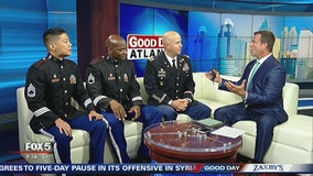 West Point Band on Good Day Atlanta