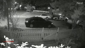 Home security camera captures tow truck stealing a car
