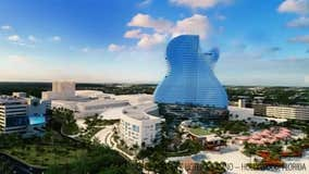 Guitar-shaped Hard Rock Hotel opens in South Florida