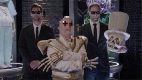 The funny bones behind the skeleton reveals himself on 'The Masked Singer'