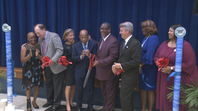 Official ribbon-cutting ceremony for John R. Lewis Elementary School