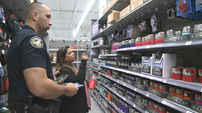 Store honors first responders on their day