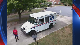 Federal and area police probe actions of postal worker