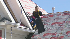 Victim of roofing scam gets helping hand from another company