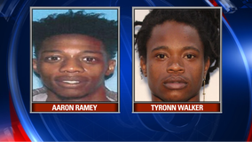 Police arrest 2 men after child is hit by stray bullet