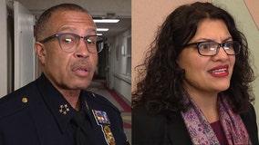 DPD Chief Craig outraged at Rashida Tlaib's race remarks