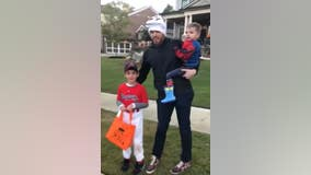 'Are you me for Halloween?' Freddie Freeman give young fan a cool treat