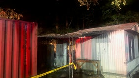 1 person dead in Hall County mobile home fire