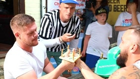 Thumb wrestling: The next Olympic sport?