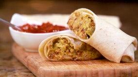 Recipe: Green chile brisket breakfast burrito