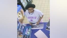Person of interest wanted in gas station armed robbery