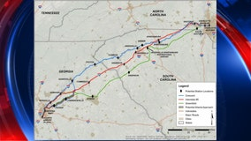 GDOT to hold meeting on high-speed rail to Charlotte