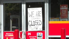 Rockdale County shuts down Family Dollar store location
