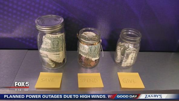 Parents aren't teaching their children to save money