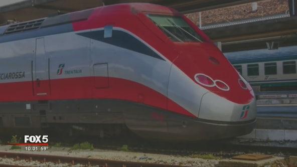 High-speed rail line proposal meeting