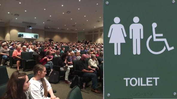 Pickens County parents flood meeting about school transgender bathroom policy