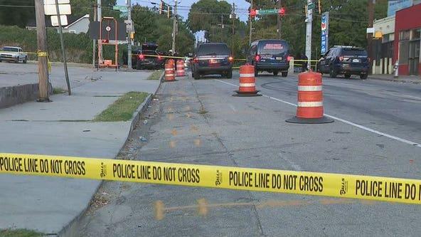 Atlanta police: Man hurt in shooting, crash