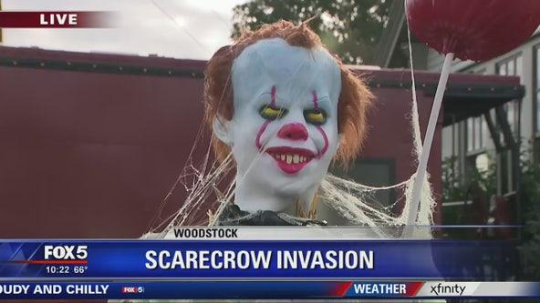 Scarecrow invasion - 10AM