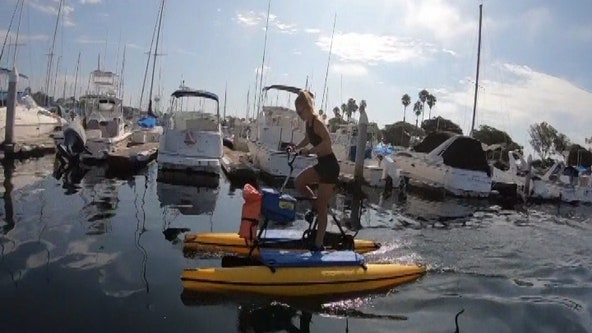 Hydrobiking: the newest trend in fitness
