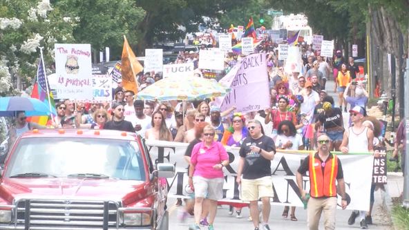 Thousands gather in Midtown for Atlanta Pride celebration
