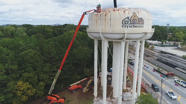 Iconic Decatur water tower coming down