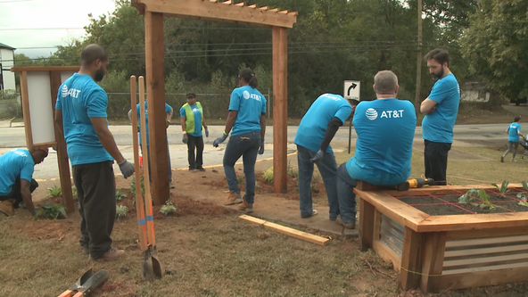 Kipp Vision Primary gets new outdoor learning lab