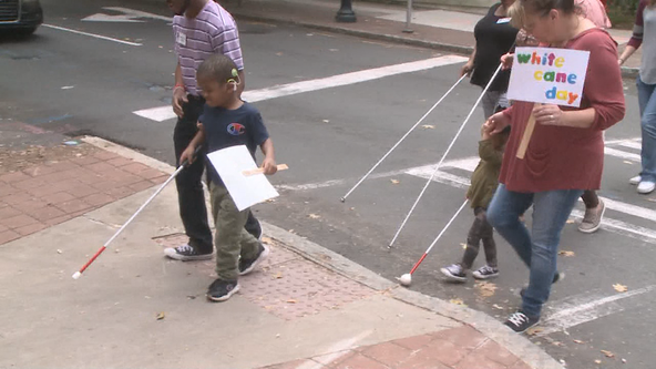 White Cane Awareness Day in Midtown Atlanta