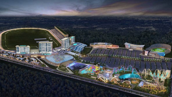 Atlanta Motor Speedways releases casino resort concept photos