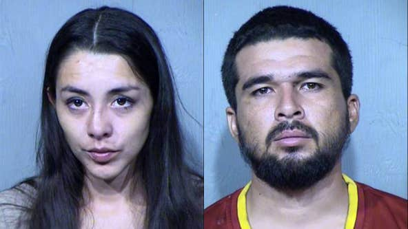 Parents arrested after 1-year-old daughter tested positive for Fentanyl