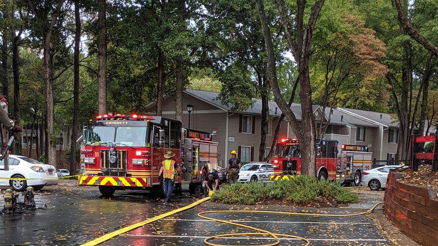 Multiple apartments damaged by Gwinnett County blaze