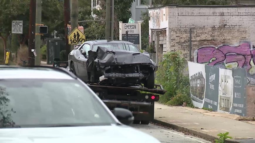 2 arrested after high-speed chase ends in crash in Atlanta neighborhood