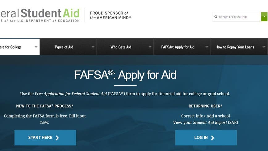 FAFSA spells free money for college students