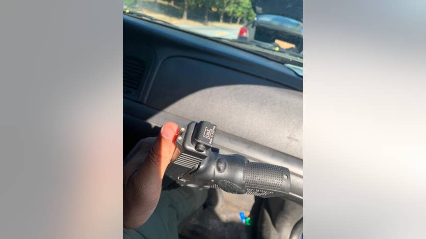 Suspect caught with gun meant for military and law enforcement
