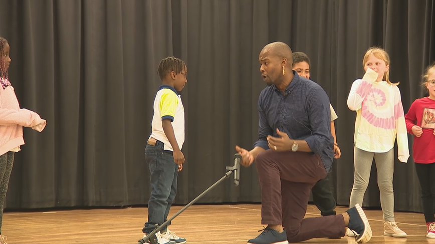'Hip Hopera' star surprises his biggest fan, a 7-year-old Cobb County boy