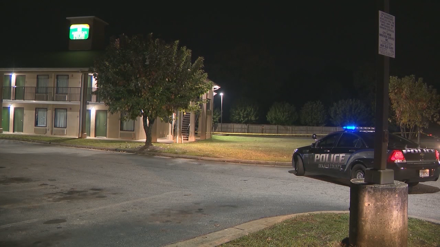 Police: Woman shot in chest at DeKalb County motel