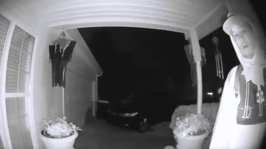 Deputies: Man trying to get into home flees after seeing doorbell cam