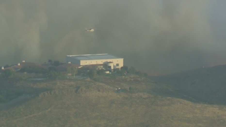 Thousands Under Mandatory Evacuations After Easy Fire Rips