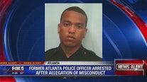 Former police officer arrested