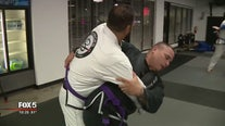 Officers take Jiu-Jitsu training