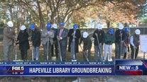Hapeville library groundbreaking