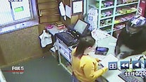Biker bandit robs pharmacy